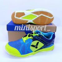 Sepatu Badminton Victor Grade OriTermurah - Citroen/Hijau, 39