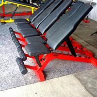 Alat Fitness Bangku Adjustable Bench ADM Murah Ready