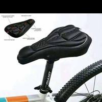 Sarung Bantal Sepeda / Jok Cover Sadel Sepeda Empuk Bike 3D Gel Pad Sa