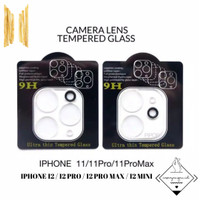 Tempered Camera Anti Gores Kamera Iphone 11 12 PRO MAX MINI Clear Lens