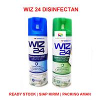 Wiz24 / Wiz 24 Disinfectant Permukaan & Udara Spray 300 ML