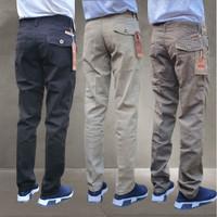 Celana Panjang pria Kanvas Cardinal Original - Leeza jeans