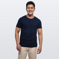 Kaos Polos Buffalo T-Shirt - Navy Blue - F030002