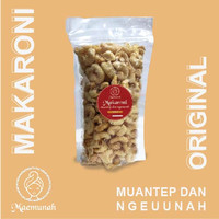 Makaroni Maemunah - Makaroni Gurih & Empuk - Snack Macaroni (Original)