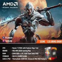 PC Gaming Rakitan AMD Ryzen 7 5700G MSI B550 DDR4 16GB NVME 512GB CPU