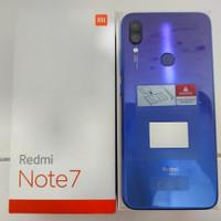 Xiaomi Redmi note 7 4/64 second like new (GRADE A) Fullset acc ori