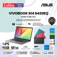 ASUS VIVOBOOK S14 S433EQ i5-1135G7 8GB 512GB MX350 2GB 14 FHD IPS W10