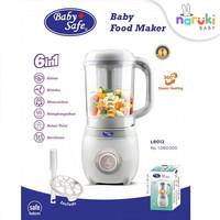 Baby Safe LB012 6in1 Food Maker Processor Babysafe Steamer Blender