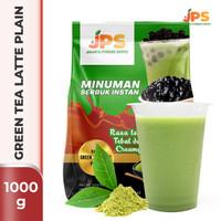 Bubuk Minuman Green Tea Plain Powder JPS Tanpa Gula