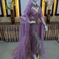 baju akad nikah pengantin