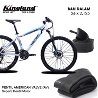 Ban Dalam Sepeda KINGLAND 26 x 2.125 Ban dalem Sepeda AV 26 x 2125 MTB