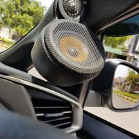 Pilar audio 3 way innova ribon sudah bekleed + midrange vifa MG10-4