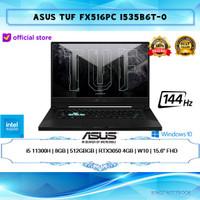 Asus TUF Dash F15 FX516PC i5 11300 8GB 512GB SSD RTX3050 W10 15,6FHD