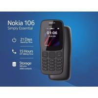 HANDPHONE NOKIA 106 HP JADUL BARU DUAL SIM TERMURAH TERMURAH GARANSI.
