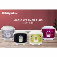 Magicom/ricecooker Miyako Mcm528 (cek stok motif redi)