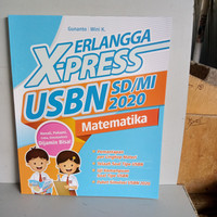 Erlangga Xpress USBN SD MI Matematika komplit kunci jawaban.