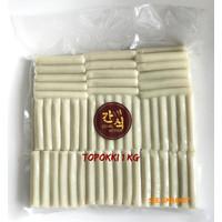 Topoki Toppoki Topokki Tteok Tteokbokki Halal Tokpoki Rice Cake / 1 Kg