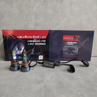 GARANSI 2TH - LED Autovision Carbon P2 H11 5700k Headlamp/Foglamp
