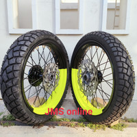 Sepaket Velg Supermoto Klx 150 D-Tracker Bisa Request Warna + Ban