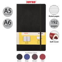 Notebook Buku Tulis Catatan Diary Agenda Joyko Soft Cover