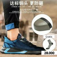 Sepatu Safety Sneakers sport Ringan