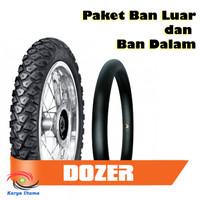 Paket Ban Luar Dalam FDR Matic Dozer Tubetype 90/90-14