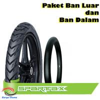 Paket Ban Luar Dalam FDR Matic Spartax Tubetype 90/90-14