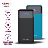 Vivan Powerbank 20W 10000mAh PD Quick Charge LED Power Bank VPB-X10