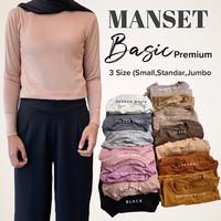 Manset Wanita Inner Kaos Premium Manset Uniqlo Baju Adem Inner Basic