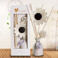 Pengharum Ruangan Reed Diffuser Vas Bunga aromatherapy Pewangi Ruangan