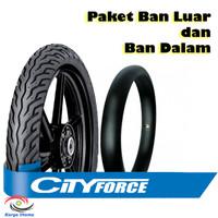 Paket Ban Luar Dalam FDR Matic City Force Tubetype 90/90-14