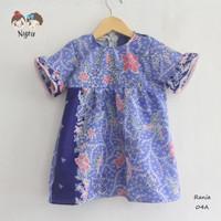 dress batik anak perempuan / baju batik anak / kemeja batik anak