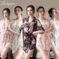 SL059 sexy lingerie kimono baju tidur sexy wanita slerpwear wanita