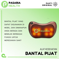 SPEEDS BANTAL PIJAT/Headrest Massage Alat Pijet Leher/Kepala/Badan