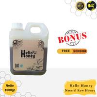 HelloHoney Madu Hutan Asli ( Manis 1KG ) 100%