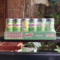 Milo Susu UHT Kaleng Original isi 240 ml 1 Karton (24 x 240 ml)