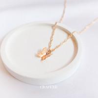Butterfly Necklace - Kalung Wanita CRAFEME