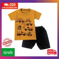 Baju Setelan Anak Laki-Laki / Kaos Setelan Anak Cowok Lengan Pendek115