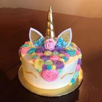 Tanduk Unicorn Bunga Topper cake Birthday / Hiasan Kue Ulang Tahun
