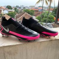 Sepatu Bola Nike Phantom GT Elite Dinamic Fit Black Pink Blast