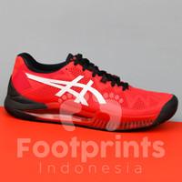 Sepatu Tenis Asics Gel Resolution 8 Electric Red Tennis Shoes Original