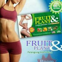 fruit and plant slimming capsule obat pelangsing badan