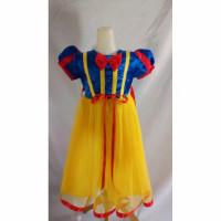 Gaun pesta anak / costume putri salju anak dress SNOW WHITE baju princ