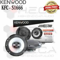 Kenwood KFC-S1666 Speaker Coaxial 2-way Pintu Mobil 6.5 Audio