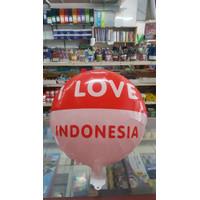 Dekorasi 17 Agustus HUT RI Balon Foil Bulat - 40cm