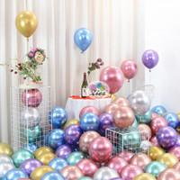 balon latex metalik chrome / metalic balloon chrome 12inch