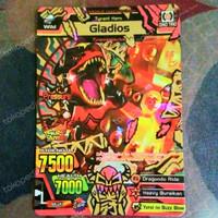 Strong Animal Kaiser Maximum GLADIOS (Secret) M3 Ultra Rare