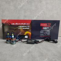 LED Autovision P1 Carbon H11 Headlamp/Foglamp 45W 5700K, Garansi 1th
