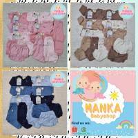 Paket baju bayi newborn baru lahir 0-3 bulan 3-6 bulan babyhai Khaki