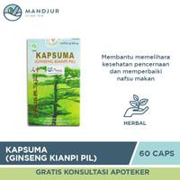 Kapsuma (Ginseng Kianpi Pil) - Penambah Nafsu Makan dan Berat Badan
